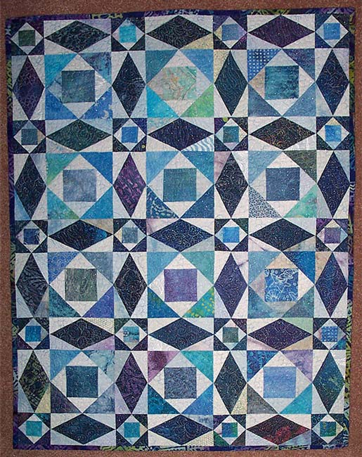 Piecemaking Storm At Sea Quilt Beauteous Storm At Sea Quilt Pattern